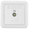 Панель разъемов ABB с разъемом гнезда для телевизора 86 гнездо для телевизора с телевизором Серия Dejing white AJ304