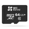 Флюорит (EZVIZ) камера видеонаблюдения выделенная карта памяти Micro SD карта TF 64GB Class10 Hai Kangwei как бренд посвященные карты sd карта tf 8g uob оранжевой музыка камера видеонаблюдение