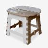 [Супермаркет] Джингдонг Келлогг Мин-товары мультфильм складной стул - желтый пластиковый стол складной стул скамья пикника стул стул рыбалка стул стул LY32-Y стул складной