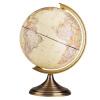 Deli (гастроном) 2178 25см двухсторонний шкала мира глобусы / бизнес подарки для дома Товары для офиса желтый