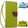 Зеленый дизайн Кожа PU откидная крышка бумажника карты держатель чехол для Lenovo S90 iq format крышка задняя для lenovo s90 силикон