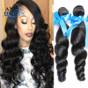 Малайзийская Virgin Hair Loose Wave 4 Bundles Unprocessed Virgin Malaysian Hair Weave Loose Curly Human Hair Weave 100g Per Bundle other 100% ms 100g queen 01010