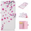 персиковый цвет дизайн искусственная кожа флип кошелек карты держатель чехол для IPHONE 6 / 6S чехол для карточек kitty ballerina персиковый дк2017 128