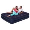 Встроенный кемпинг INTEX надувных подушки воздушной подушки двойных раскладная кровать 137 * 191 * 30