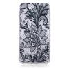 Black Rose Pattern Мягкий тонкий ТПУ Резиновая крышка силиконовый гель чехол для Microsoft Lumia 550 аксессуар чехол microsoft lumia 550 cojess silicone tpu 0 3mm grey
