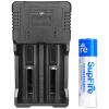 supfire интеллектуальный USB зарядник+18650 синяя литиевая батарея смазка литиевая gunk l666