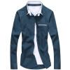 Мужская молодежная мужская молодежная мужская молодежная футболка GEEDO CS029 Lake Blue 2XL