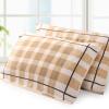 Золото Количество полотенце хлопка текстильный плед подушка охватывает два приспособленные