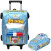 Маневрирование ребенка (AUTOKIDS) первичные сумки тележки 1--2--3--4 года гвардейской мальчик 3D рюкзака Разгрузка полиции перетащить багаж тележки формулы кормление перо ak1105