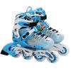 Утка роликовые коньки детские мужские и женские роликовые коньки встроенные коньки обувь WQ301-BS модели скорости синий код S