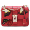 Рафи Стинг (La Festin) новая вышивка жа сумка плече сумка женская сумка небольшая цепочка небольшой площади красного обруча Guan Na