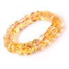 Ling Fei крупные частицы деньги цитрин браслет мужской неоформленное стиль браслеты ювелирные изделия подарка