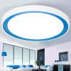 Гусь (HONYAR) LED освещение потолочных светильников современной минималистской Спальню 24W три секции светорегуляцией Fufeng