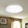 NVC Потолочные светильники Гостиная Лампы Спальня Лампы Освещение Освещение Стильные простые тюльпаны Monsoon Light Монохроматический свет (24W 6500K) лампы освещение