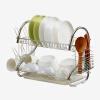 Ou Runzhe стойка для посуды из нержавеющей стали 16-дюймовая кухонная утварь для поддонов