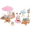 Sambler семья японский бренд принцесса игрушка девочка кукла дом моделирования лес семья семейная сцена магазин дом - рождения партии наборы SYFC52078 дом семья быт