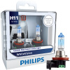 Philips whitevision одна пара Car галогенные фары 4300 К H1 H4 H7 H11 H3 HB3 HB4 12 В 55 Вт whitelight скрасить 60% Фары