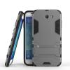 Серый Slim Robot Armor Kickstand Ударопрочный жесткий корпус из прочной резины для SAMSUNG Galaxy J7 2017/J727P чехол для iphone 7 sgp slim armor 042cs20842 ультра черный
