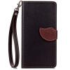 Черный Дизайн Кожа PU откидная крышка бумажника карты держатель чехол для Nokia Lumia 730