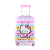 Девочки Hello Kitty чемодан (HELLO KITTY) Дети тележка чемодан KTX005 розовых 18 дюймов все цены