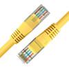 И макрос (D & S) DNS4105 ультра-пять кабелей 10-метровый желтый сверхвысокоскоростной стандартный сетевой перемычек с хрустальной головкой и макрос d