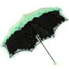Райский зонтик (солнцезащитное средство UPF50 +) мерсеризованный бархат черный резиновый скрученный солнечный зонт солнечный зонт 31804E нежный зеленый зонт eleganzza зонт