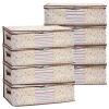 Детеныши отделки сумки одежды одеяла суб Baicaoyuan (bicoy) мешочек 2 больших 2 больших 2 маленьких