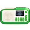 (См. Меня здесь) LV390 карта радио старый человек Walkman старый портативный mp3-плеер мини-маленький динамик кристально-зеленый