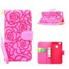 MOONCASE Премиум Урожай 3D Рельефный Цветочные Кожа PU Магнитная Фолио бумажник чехол ID кредитных карт слоты для Huawei P9 Lite бумажник d