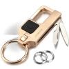 [Супермаркет] JOBON Jingdong взрывы ключ автомобиля кольцо брелок кольцо кольцо кольцо весной нож прилагаются фото ножа носимого ZB-8735B кольцо