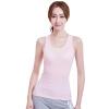 [Супермаркет] Jingdong жа Антарктический дышащий жилет нить лук яркий камзол слово дна рубашки розовый L [супермаркет] jingdong антарктический