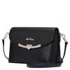 Пожилой глава (LAORENTOU) диких моды кожаных сумок плечо сумка дама простого маленький квадрат черный мешок 979J002L1A сумка через плечо laorentou 4 938j004