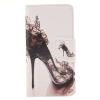 Высокие каблуки Дизайн Кожа PU откидная крышка бумажника карты держатель чехол для SAMSUNG Galaxy J3/J3 2016 сердце образный водослива дизайн кожа pu откидная крышка бумажника карты держатель чехол для samsung galaxy j3 j3 2016