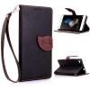 Черный Дизайн Кожа PU откидная крышка бумажника карты держатель чехол для Huawei P8 Lite чехол книжка it baggage для смартфона huawei p8 lite искусственная кожа черный