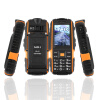 NO.1 A9 2,4 водонепроницаемый мобильный сотовый телефон противоударный двойной SIM-карты Alarm слепить охра телефон двойная открытка двойной оста водонепроницаемый пылезащитный старик телефон