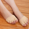 Женщины Девушки без скольжения Высокие каблуки Сандал Невидимый Половина Footie Открытые носки ног над коленом бедро высокие носки хлопка чулки леггинсы женские женщины девушки