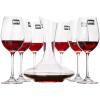 Школа права (roupa) Кристалл вино красное вино бокаловидные 7 Набор точек крепления графины вина винные коробки (410 мл * 6 + 1000мл красное вино графины * 1) колено трубы grand line d90 60° красное вино металлическое
