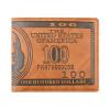 Доллар США Билл Браун бумажник PU кожаный бумажник Двойные кредитные карточки Фото Бережливый монета номиналом 1 доллар президенты эндрю джонсон сша 2011 год