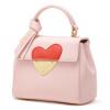 Ла Фэстин сумка женская красная сумка свадебный мешок кожаная сумка 618693-ZY цветок порошок