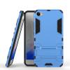 Синий Slim Robot Armor Kickstand Ударопрочный жесткий корпус из прочной резины для MEIZU X синий slim robot armor kickstand ударопрочный жесткий корпус из прочной резины для htc desire 10