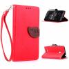 Красный Дизайн Кожа PU откидная крышка бумажника карты держатель чехол для Asus ZenFone 5 чехол флип для asus zenfone 5 красный g o