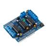 Фото Мотор привода расширения Щит Модуль совета L293D для Arduino Mega Duemilanove UNO модуль расширения zyxel m8fo8 8 ми портовый модуль fxo для ip атс x8004