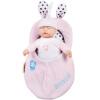 Бибер (Бибер) Мэн Бо кукла сна умиротворить куклы плюшевые игрушки куклы моделирования мягкие розовые детские игрушки, чтобы успокоить мягкие игрушки