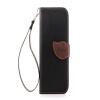 Черный Дизайн Кожа PU откидная крышка бумажника карты держатель чехол для HTC One M8 черный дизайн кожа pu откидная крышка бумажника карты держатель чехол для htc m7 one