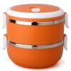 Jilui Lunch Box / Pens Love Series 1.4 L цветной обеденный стол из нержавеющей стали TB-102 оранжевый