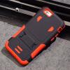 Наружная крышка телефона чехол для iphone 6 6s плюс PC + Силиконовый полный защитный доспех Футляр для IPhone Kickstand 7 плюс С M meiyi защитный чехол для iphone 6 6s
