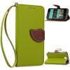 Зеленый дизайн Кожа PU откидная крышка бумажника карты держатель чехол для HTC Desire 626 htc desire 650