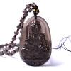 Ling Fei обсидиан подвеска талисман ожерелье для родившегося в год лошади (в том числе сертификат) стоимость