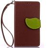 Коричневый Дизайн Кожа PU откидная крышка бумажника карты держатель чехол для Sony Xperia Z3/L55T мобильный телефон sony l55t xperia z3 4g