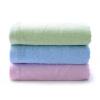 Бамбук сто полотенца банное полотенце бамбуковое волокно мыть полотенце бамбуковый уголь шарф серебристый боковой порошок синий зеленый три загружены 95 г / шт 34 * 76 см